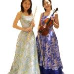 二重奏フルートとヴァイオリン(ヴィオラ)