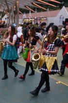 【事例】ハロウィンパレード演奏 西武園ゆうえんち2日間
