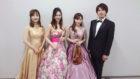 オペラ歌手とフルート、ヴァイオリンでフラッシュモブ演奏でした