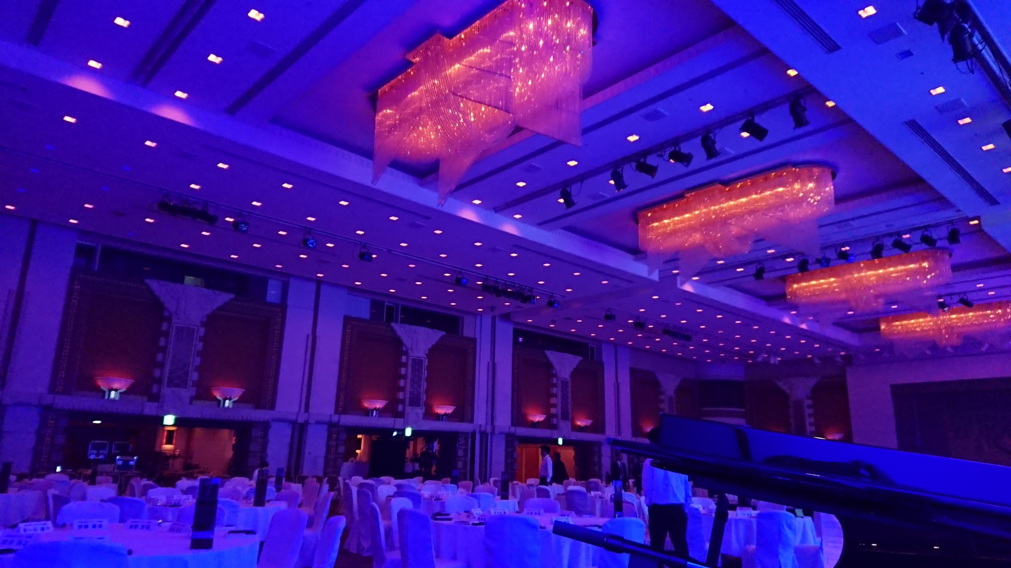 帝国ホテルでピアノ五重奏でした