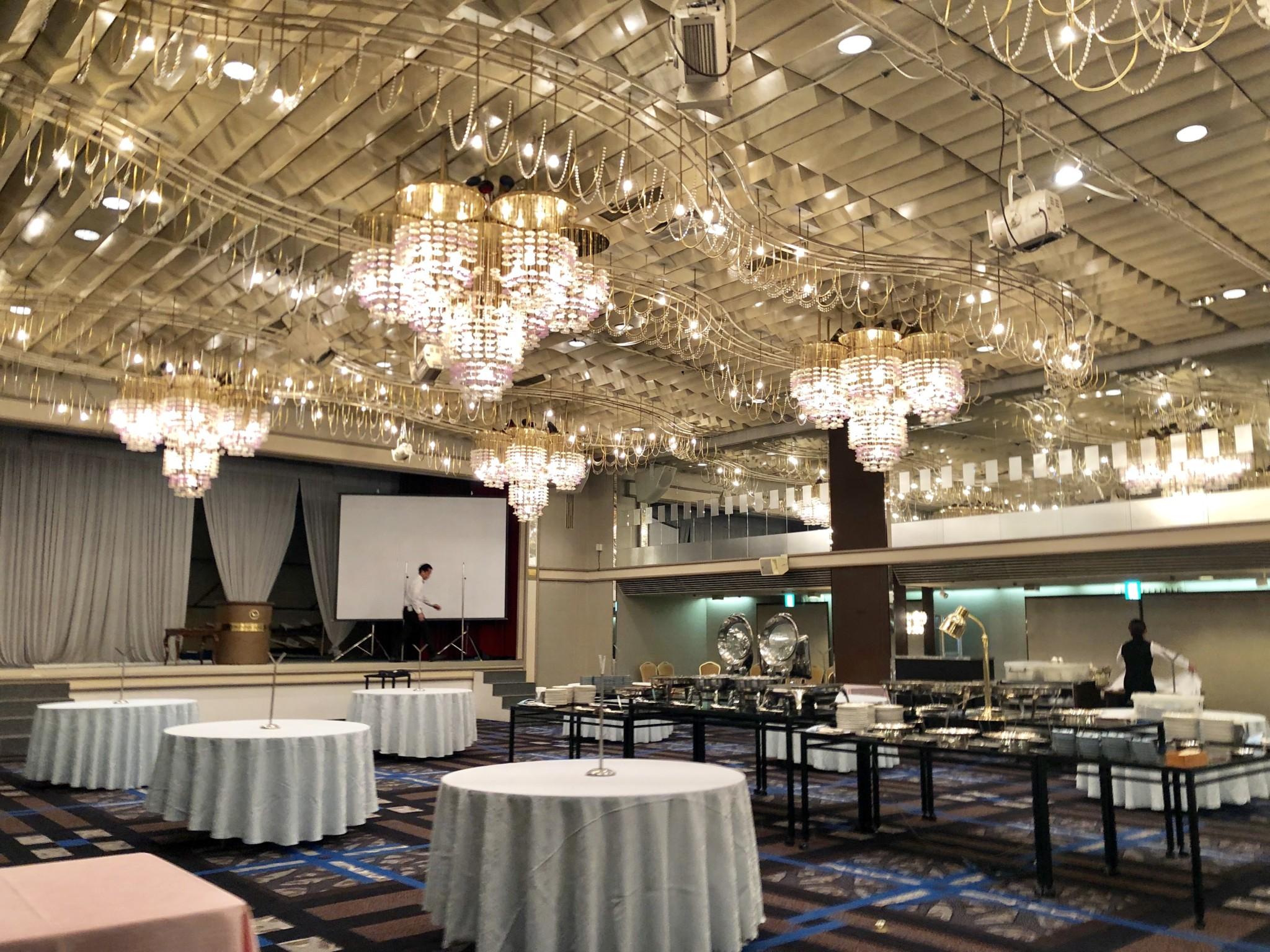 ミュージスターで余興演奏した名古屋国際ホテルです