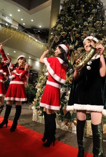 クリスマスイベントで子供から大人まで楽しんでいただきました
