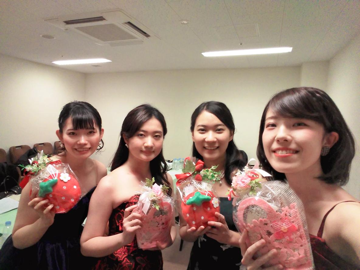 茨城県にて弦楽四重奏の生演奏でした