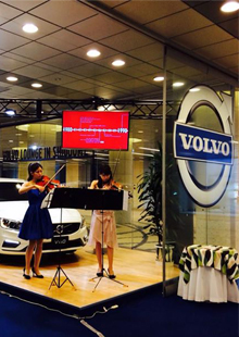 VOLVO LOUNGE IN SHIODOME
