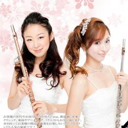 フルートとヴァイオリンろチェロと、ピアノのクラシック編成