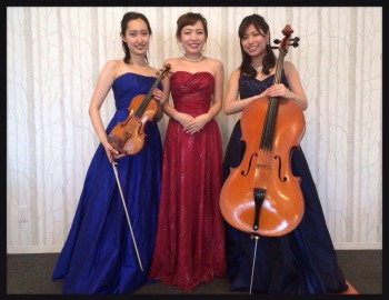 ヴァイオリン、チェロ、ピアノのクラシック三重奏