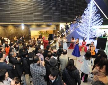 クリスマス公開ライブ、集客イベントでも人気があります