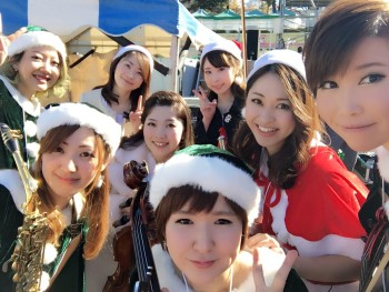 クリスマス公開ライブでミュージスターは人気があります