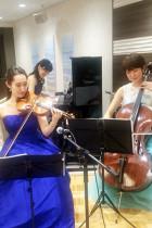 【事例】BGM演奏 京王プラザホテル 新宿 ヴァイオリン・チェロ・ピアノ