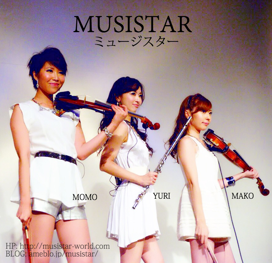 MUSISTAR Trio Momo Yuri Mako