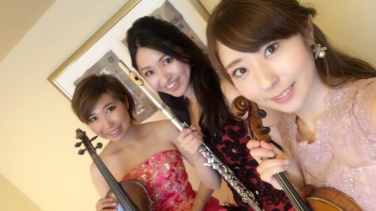 舞浜にてミュージスターBGM演奏でした