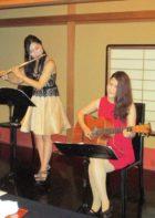 フルートとヴァイオリンの二重奏でした