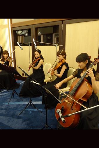 照明学会100周年記念祝賀会 弦楽四重奏