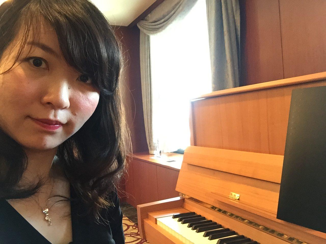 ピアノソロ演奏でした