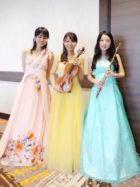 フルート、ヴァイオリン、ピアノの3名編成でのご依頼でした