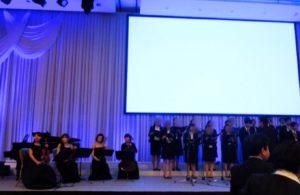 帝国ホテル大阪にて式典生演奏でしたでした