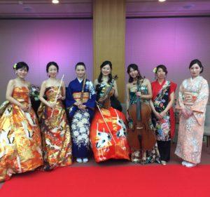 日本国憲法施行70周年記念演奏会にて生演奏致しました