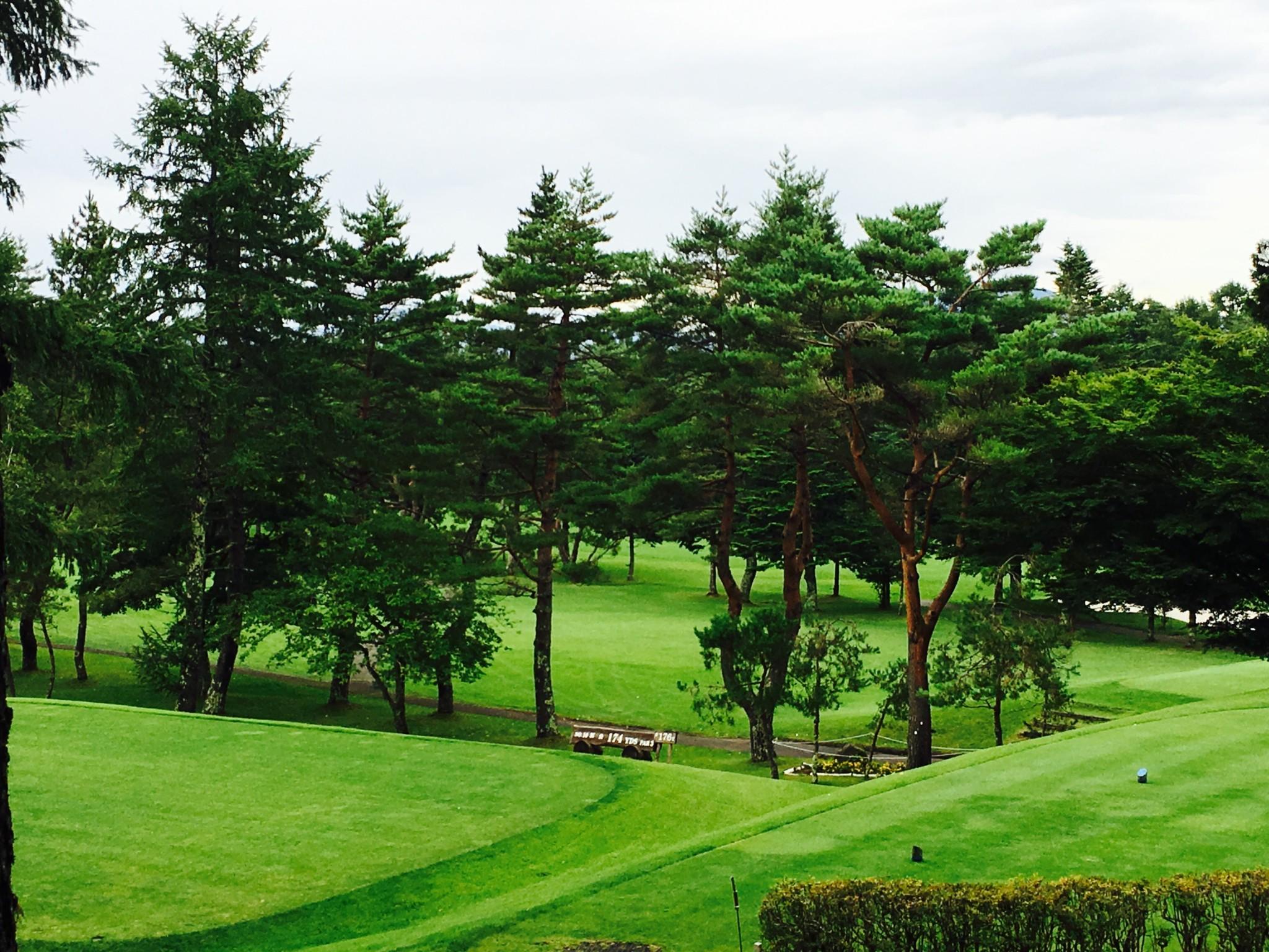 富士ゴルフコースです