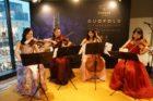 ヴァイオリン2名、ヴィオラ、チェロの4名編成でのご依頼でした