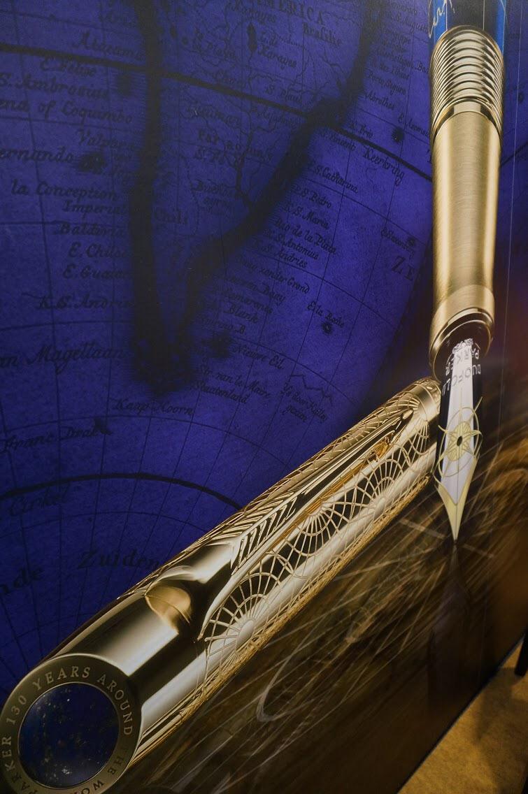 高級万年筆ブランドパーカー様で演奏の際に万年筆を頂きました