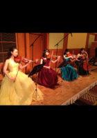 弦楽カルテットでクラシック曲を生演奏しました