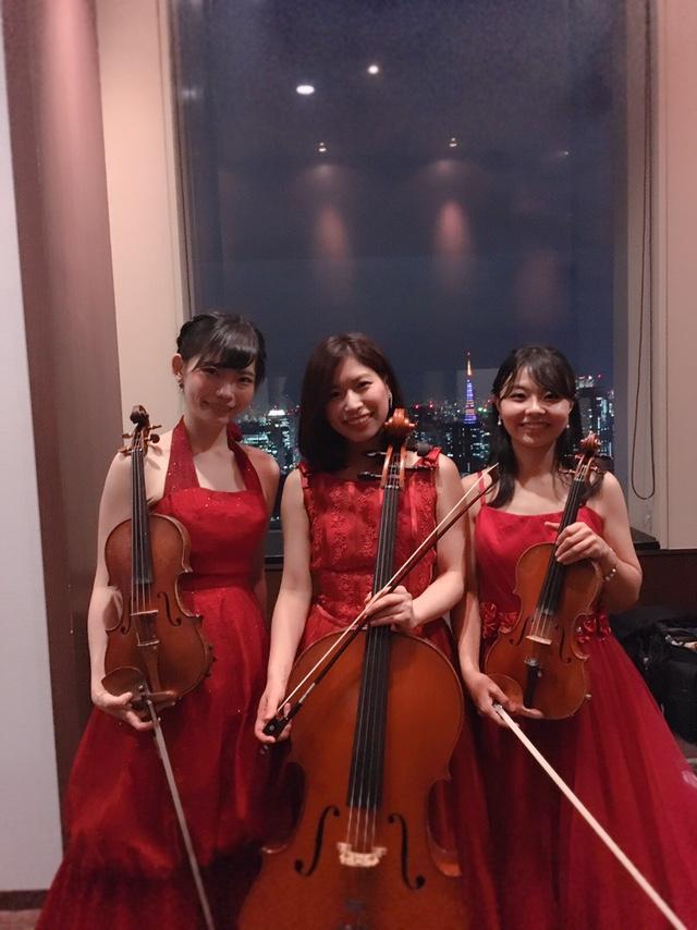 弦楽三重奏でクラシックを演奏しました