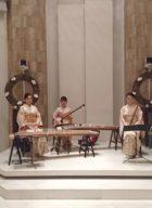 和楽器三重奏はお正月シーズンに人気があります