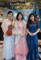 歌とヴァイオリンとピアノの3名編成でのご依頼でした