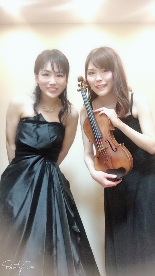ヴァイオリンとピアノのドゥオで披露宴演奏でした