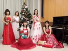 クリスマスの子供向け演奏でした キッズコンサートは人気のご依頼です。