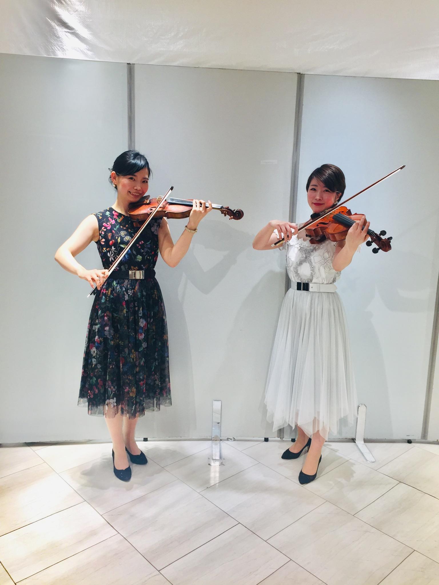 ヴァイオリンとヴィオラのクラシックコンサート