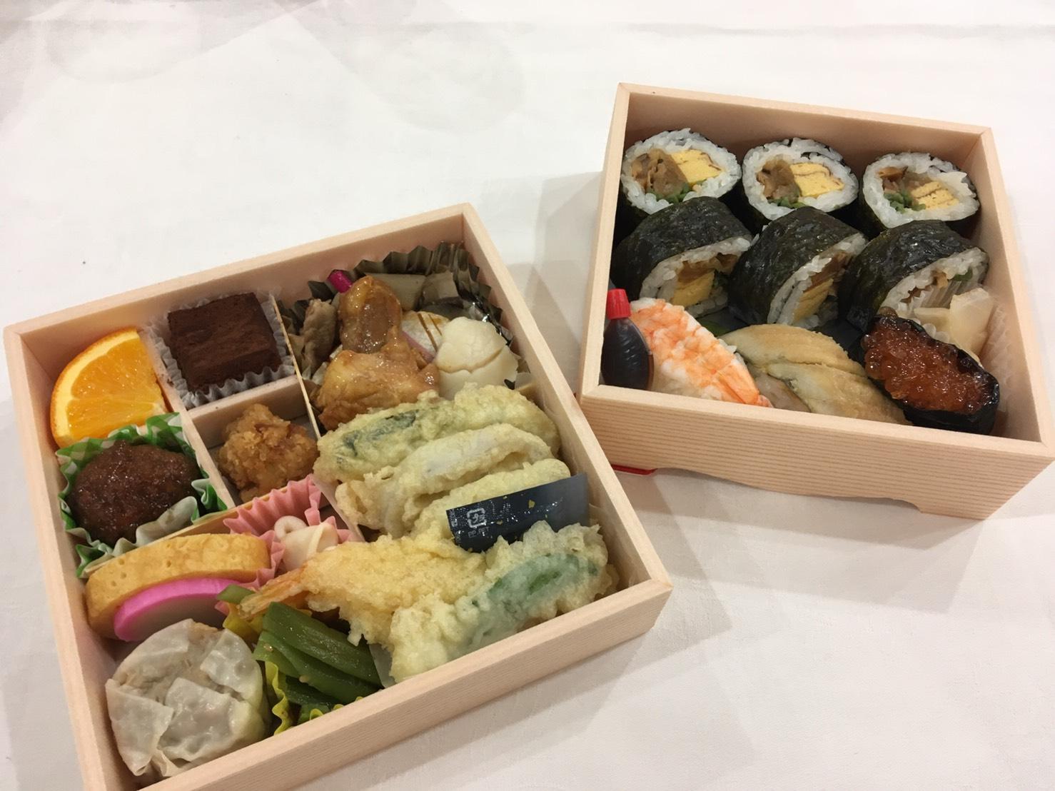 ミュージスター広島演奏でお弁当をご馳走になりました