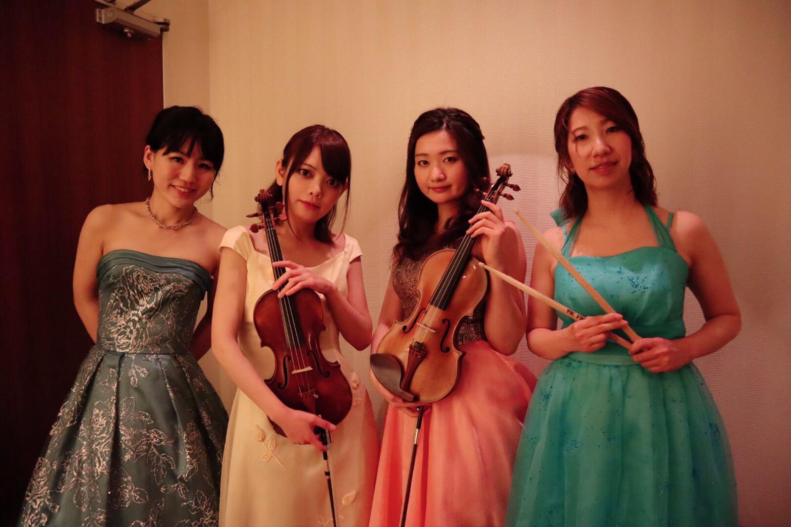クラシックの名曲の生演奏で人気があります