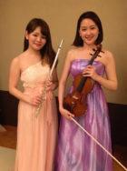 フルートとバイオリンの2名編成でのご依頼でした