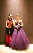 フルートとヴァイオリンのクラシック二重奏