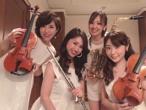 ミュージスターは美人演奏家ユニットです