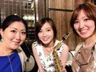 3名編成のジャズ生演奏でした