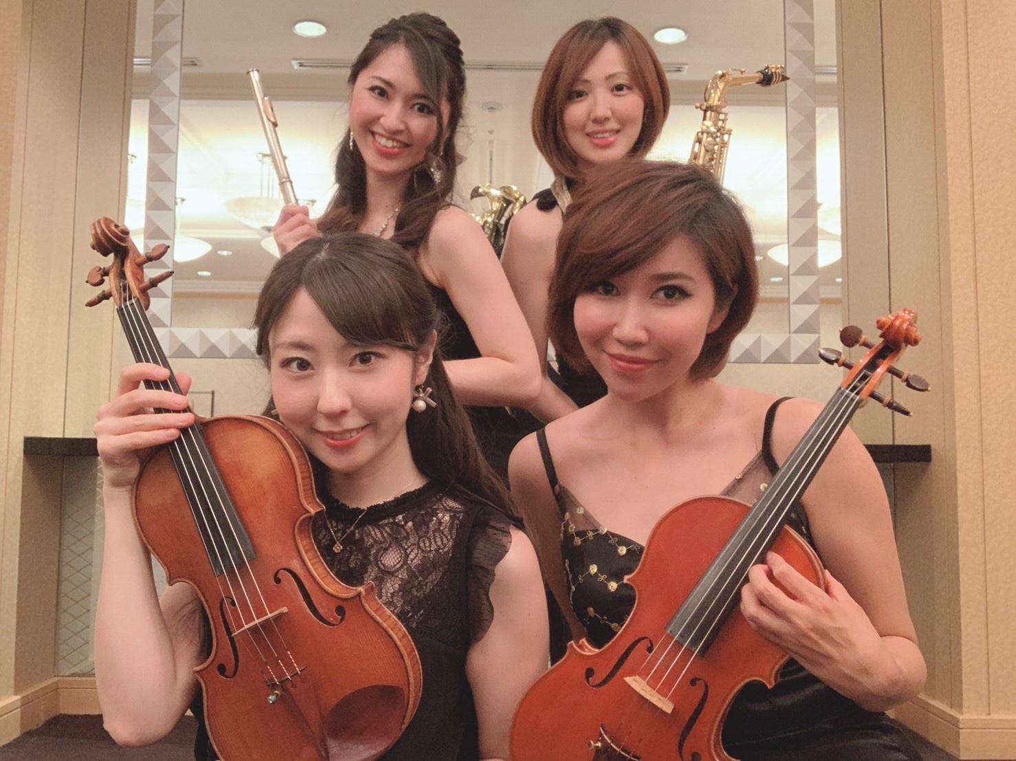 クラシックの生演奏で人気があります