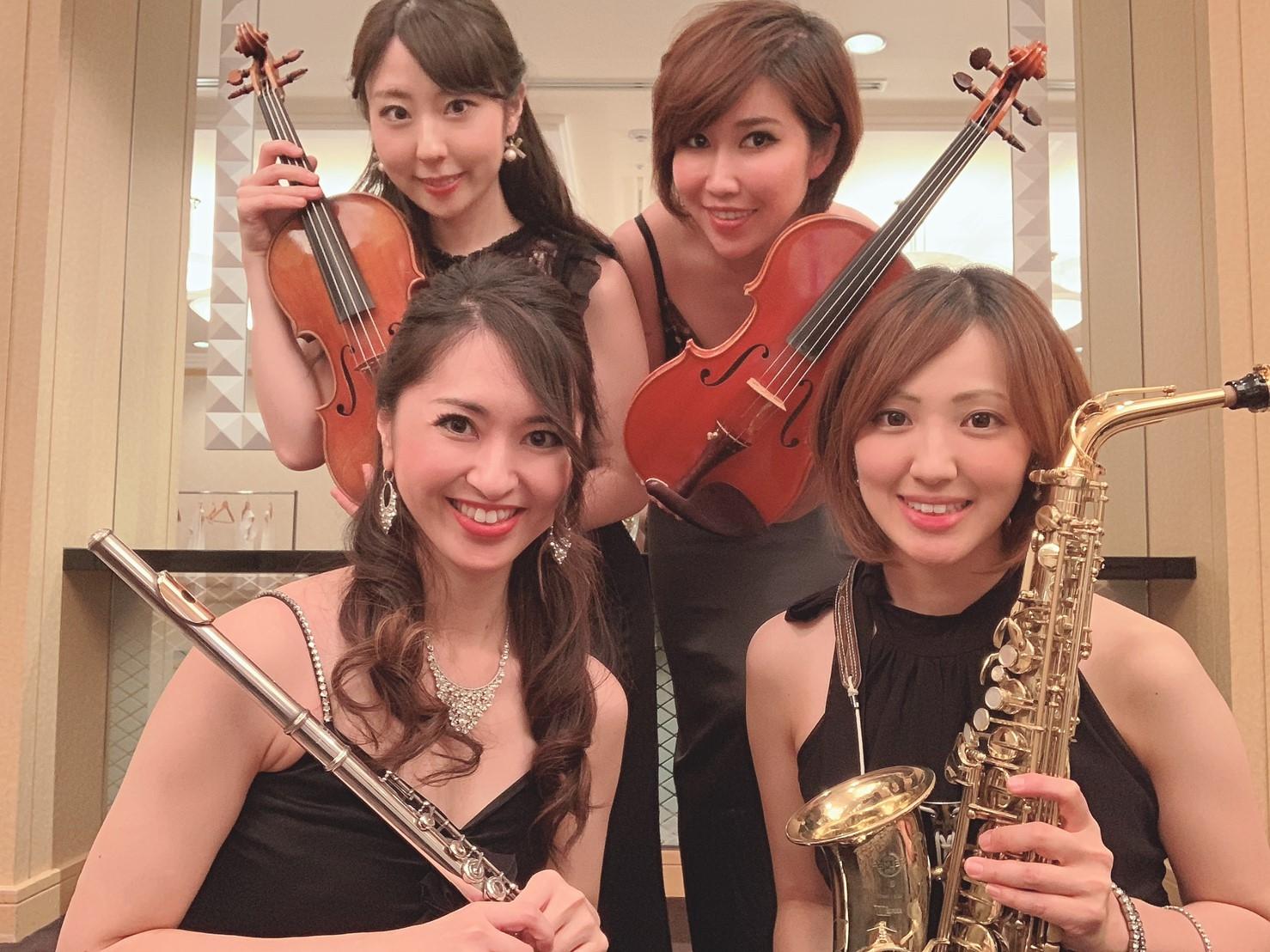 クラシック美人演奏家ユニットのミュージスター