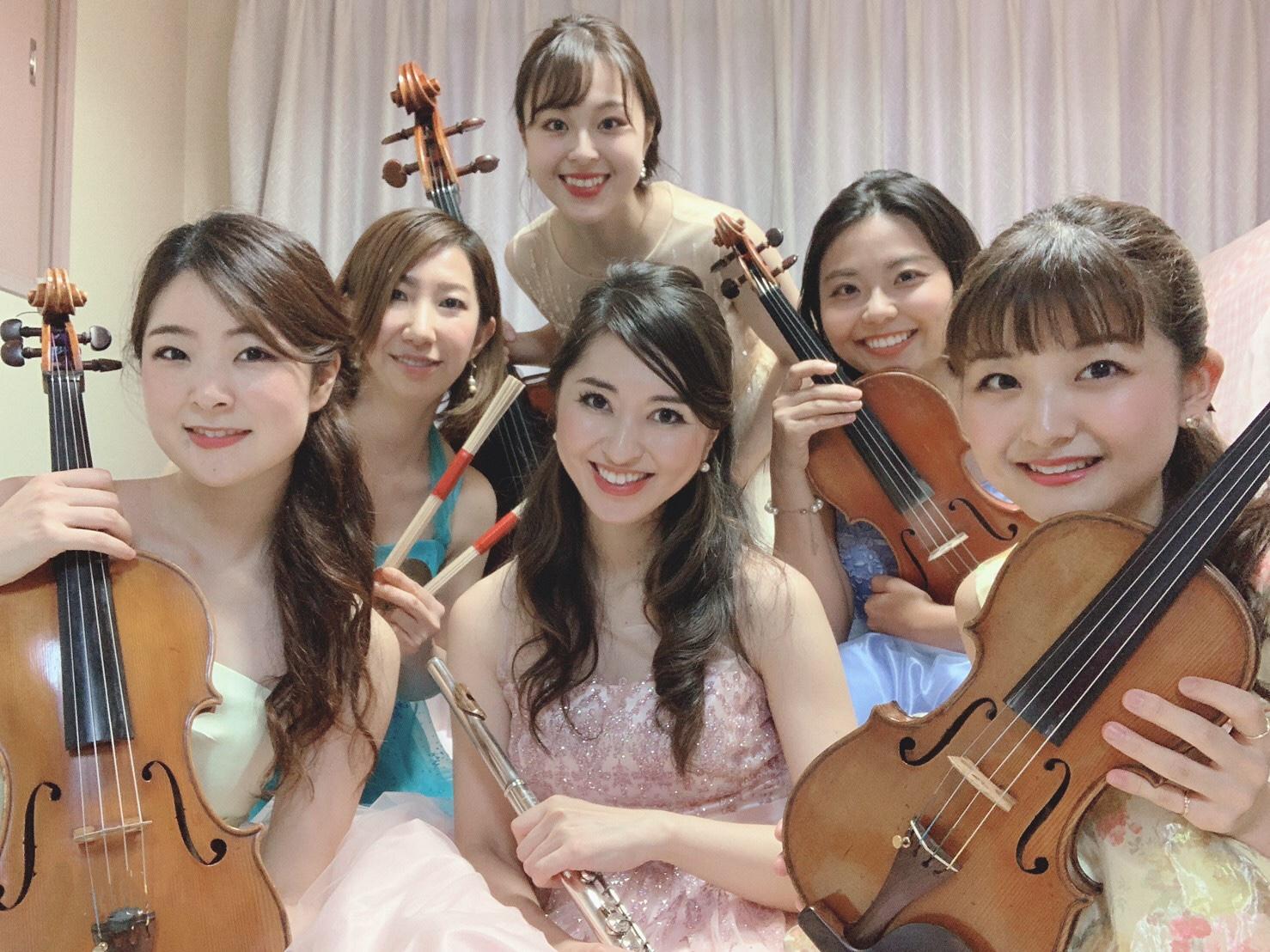 クラシックの生演奏の音色で人気があります