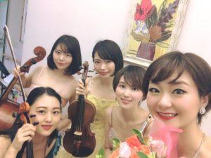 ソプラノ歌手と、フルートカルテットは美人演奏家が多いです