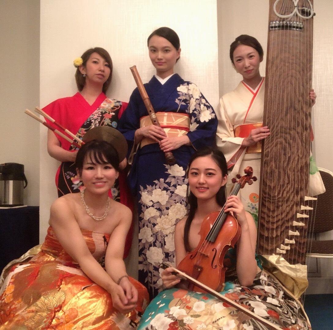 なでしこオーケストラは海外のお客様にも人気があります