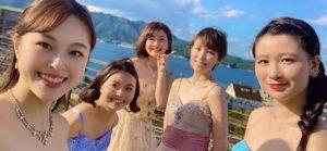 広島にて老人施設にてクラシック生演奏でした