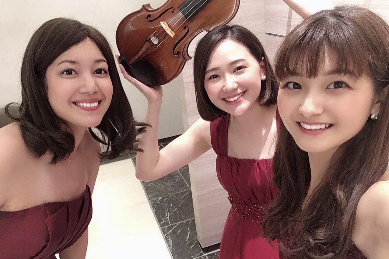 ヴァイオリン、ヴィオラ、チェロの3名編成での御依頼でした