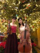 ヴァイオリンとチェロの二名編成で御依頼頂きました