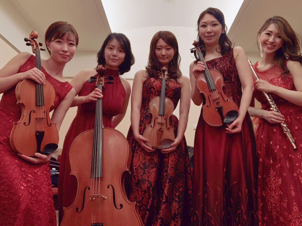 クラシックの演奏家の派遣で人気があります