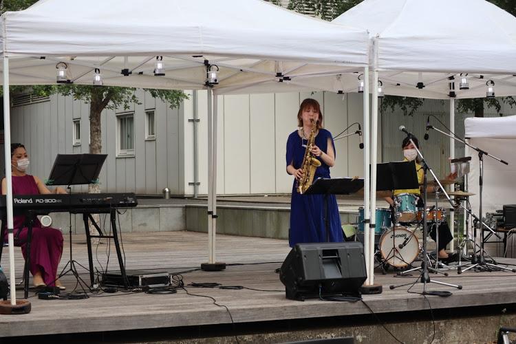 ジャズイベントで生演奏の御依頼をいただきました