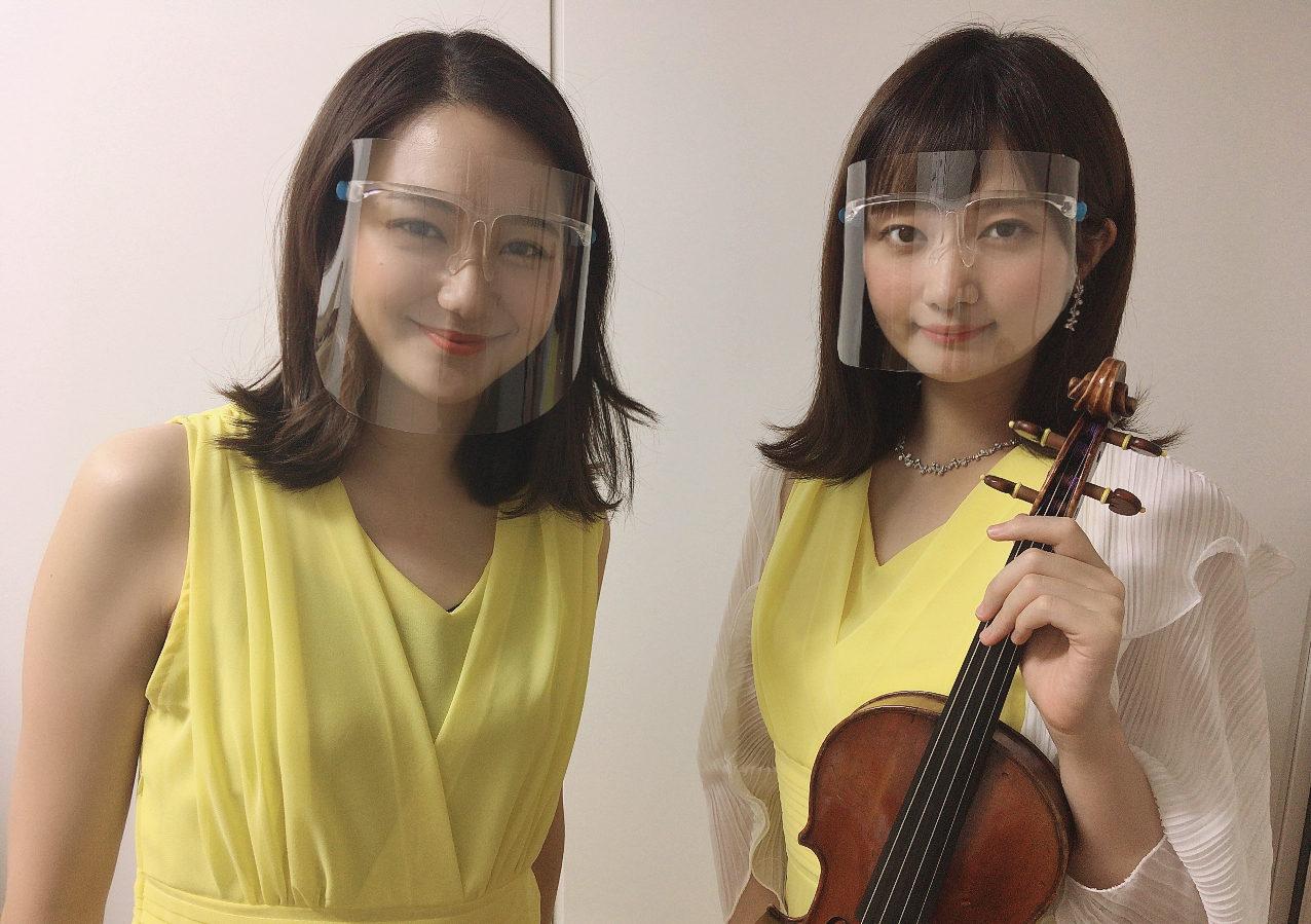 バイオリン二重奏は華やかで人気があります