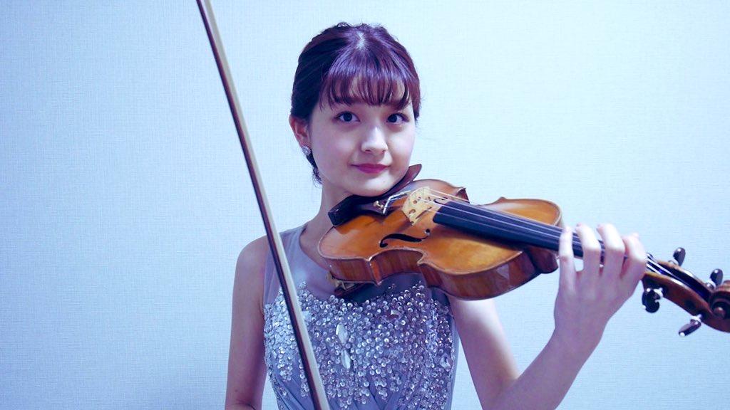 美人ヴァイオリン奏者は人気があります