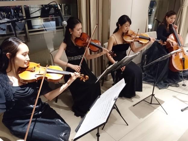 弦楽四重奏の生演奏の派遣は響芸